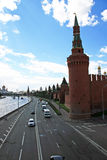Moscow embankment Stock Image