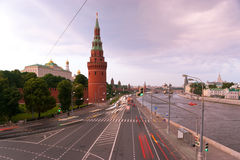 The Moscow embankment Stock Photography