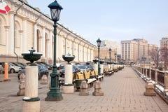 Moscow en stad landskap Royaltyfri Foto