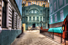 Moscow. Enchanted house. HDR Stock Photos