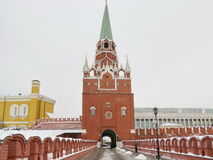 Moscow - entrance to Kremlin Royalty Free Stock Images