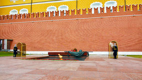 Moscow. Eternal flame. Stock Photography