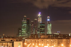 Moscow in the evening Stock Photos