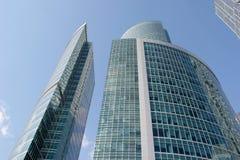 Moscow för affärsmitt stad i Ryssland Arkivfoton