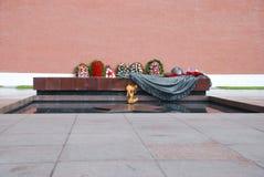 moscow för evig brand röd fyrkant Royaltyfri Foto