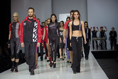 Moscow Fashion Week Royalty Free Stock Images