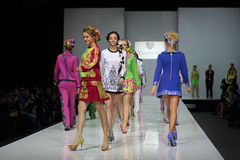 Moscow Fashion Week Royalty Free Stock Photography