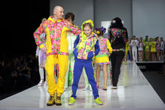 Moscow Fashion Week Stock Image