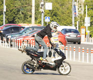 Moscow, festival of extreme motosport Stock Images