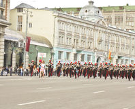 Moscow, festival of military orchestras Stock Photo