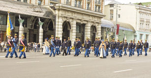 Moscow, festival of military orchestras Royalty Free Stock Photo