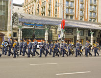 Moscow, festival of military orchestras Royalty Free Stock Photos
