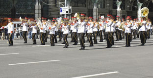 Moscow,  festival of military orchestras Royalty Free Stock Images