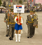 Moscow, festival Royalty Free Stock Image