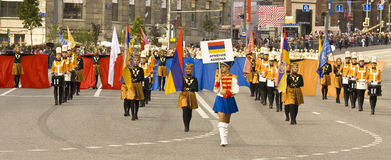 Moscow, festival Royalty Free Stock Photo