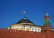 The Moscow fortress Stock Photography