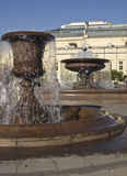 Moscow, fountains Royalty Free Stock Photos