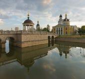 moscow Gamla troendens kyrklig Rogozhskoy gemenskap Royaltyfria Foton