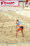 2015 Moscow Gland Slam Tournament Beach Volleyball Russia Moscow 31 may 2015 Stock Photography