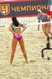 2015 Moscow Gland Slam Tournament Beach Volleyball Stock Images
