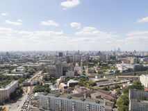Moscow in good weather, Russia Royalty Free Stock Images