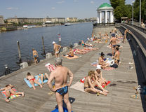 Moscow, Gorky park Royalty Free Stock Photography