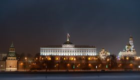 Moscow. Grand Kremlin Palace. Stock Images