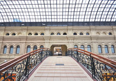 Moscow gum shopping center Royalty Free Stock Photos