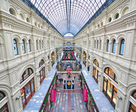 Moscow gum shopping centre Stock Image