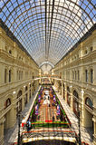 Moscow GUM shopping gallery Royalty Free Stock Photo