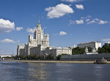 Moscow, high-rise building Stock Image