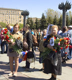 Moscow, holiday Victory day Royalty Free Stock Photo