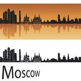 moscow horisont royaltyfri illustrationer