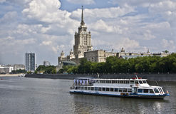 Moscow, hotel Royalty Free Stock Images