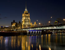 Moscow, hotel Stock Image