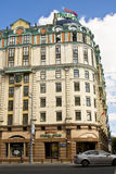 Moscow, hotel Marriott Stock Images