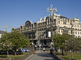 Moscow, hotel Metropol Stock Images