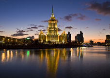 Moscow, hotel Royalty Free Stock Photography