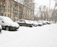 Moscow i vinter Royaltyfri Foto