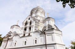 moscow Igreja da decapitação de St John tt em Kolomenskoye fotos de stock