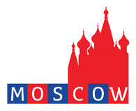 Moscow illustration Stock Photography