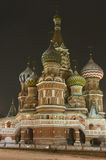 Moscow Intercession cathedral St Basils Stock Photography