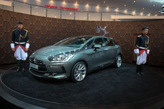Moscow International Automobile Salon 2012. Citroe Stock Photo