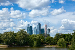 Moscow International Business Center. Royalty Free Stock Photos