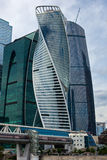 Moscow International Business Center. Royalty Free Stock Photo