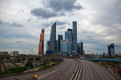 Moscow International Business Center. Royalty Free Stock Images