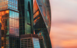 Moscow International Business Center Royalty Free Stock Image