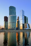 Moscow International Business Center  Royalty Free Stock Photography