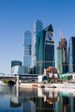 Moscow International Business Center, Moscow-City Stock Image