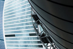 Moscow International Business Center. Moscow City Royalty Free Stock Photography